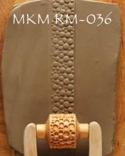 TEXTUR ROLLSTEMPEL  RM-036  L 3CM, <br><i>Preis pro Stück</i>